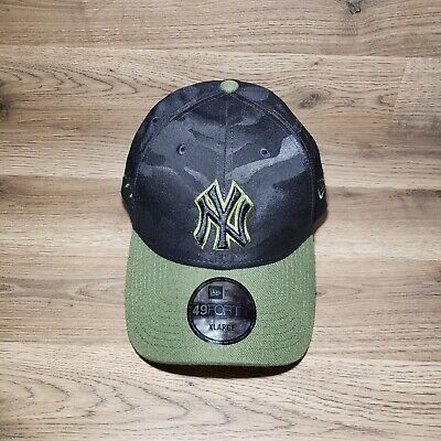 new products 5c7e3 b7f6b 2018 Memorial Day New York Yankees On-Field 59Fifty Fitted Cap XL