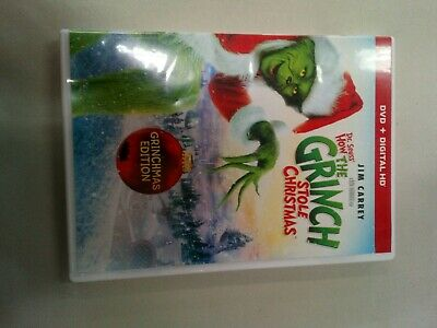 Dr. Seuss's How the Grinch Stole Christmas (DVD, 2017) no digital