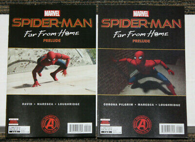 Marvel Spider-Man Far From Home Prelude # 1-2 COMPLETE SET - MCU
