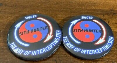 Star Wars Chicago Celebration 2019 Sith Hunter Pin The Way Of Intercepting Sith
