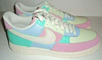 Details about Nike Air Force 1 '07 QS Sz 14 Easter 2018 AH8462 400 AF1 Patchwork Limited NSW