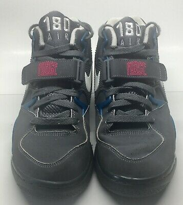 new product c53b0 702ea Nike Air Force 180 Charles Barkley Max Grey Blue Pink Size 8 310095-016  Sneakers