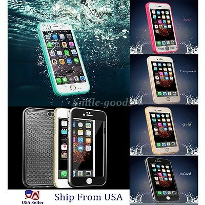 Waterproof Shock Proof Hybrid Rubber TPU Case Cover For iPhone 7 Plus