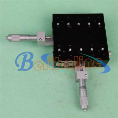 LY125-CM XY-Axis Stage Manual Slide Table Trimming platform 125*125mm 46mm