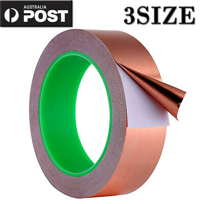 6/30/50MM Copper Foil Tape EMI shielding double sided conductive adhesive