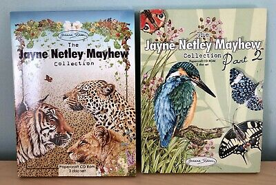 Joanna Sheen The Jayne Netley Mayhew Collection 2 Craft Cd Rom Card Making Disc
