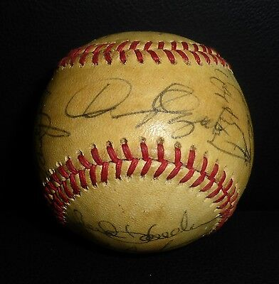 1979 Phillies Team Autografato Baseball PSA/DNA Tug Mcgraw Pete Rose Nino