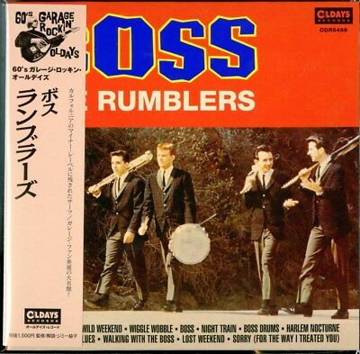 Rumblers-Boss-Japan Mini Lp Cd C94
