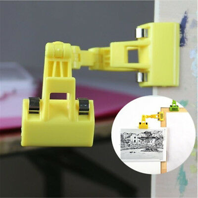 Copy Drawing Board Clip Double Head Clamp 360° Rotatable For Artist Painting
