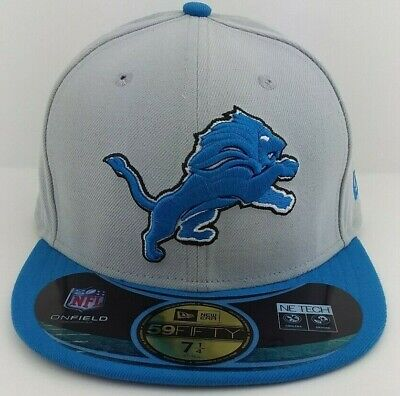 promo code f84eb c0587 Detroit Lions New Era 59FIFTY Hat Cap Fitted On-Field