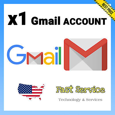 ✅ 1 USA Gmail Google Accounts ✅ Best Price ✅ Only $0.99