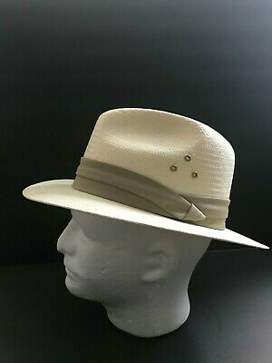 80d19b804ee95 MEN S COUNTRY GENTLEMAN Straw Hat leather Band XL -  20.00