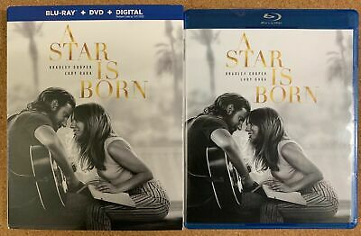 A Star Is Born Blu Ray Dvd 2 Disc Set + Slipcover Sleeve Free World Wideshipping