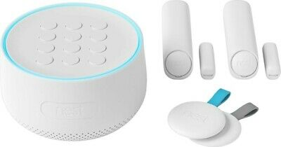 SEALED  Nest Secure Alarm System Starter Pack w/ 2 Nest Detect Sensors H1500ES