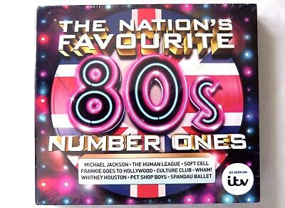 64554 The Nation's Favourite 80s Number Ones [NEW & SEALED] CD (2015)