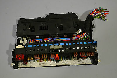 #014 Bmw 3 Series E46 320D Touring Fuse Box W/ Fuses P/N 8364540 / 8364542