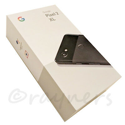 "(New; Box Opened) 64GB Google Pixel 2 XL Panda White 6.0"" 4GB RAM Android G011C"
