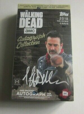 2018 Topps The Walking Dead Autograph Collection Hobby Box