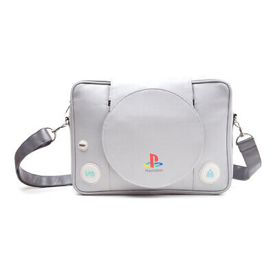 SONY - PlayStation One Console - Messenger Bag - Grey