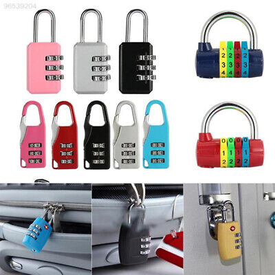 4130 3 Digit Coded Padlock Combination Lock Keyless Lock Luggage Security