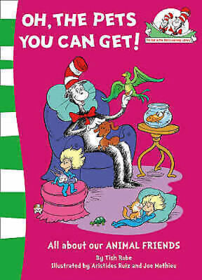 Dr Seuss Learning Book: OH, THE PETS YOU CAN GET - NEW