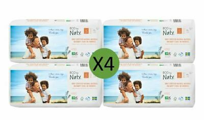 Naty Size 5 Nappies Eco Pack (4 x 40)