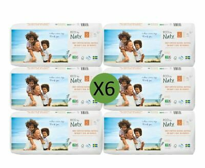 Naty Size 5 Nappies Eco Pack (6 x 40)