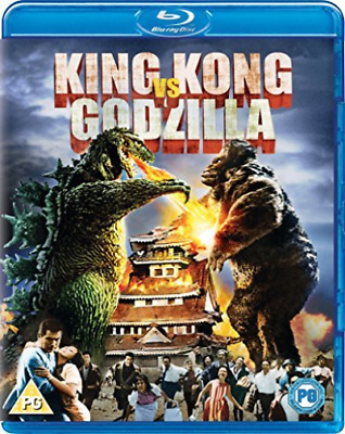 King Kong Vs Godzilla (Uk Import) Dvd New