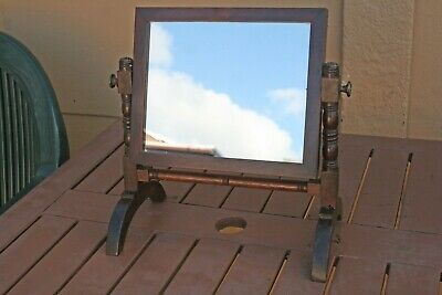Edwardian Small Dressing Table Mirror