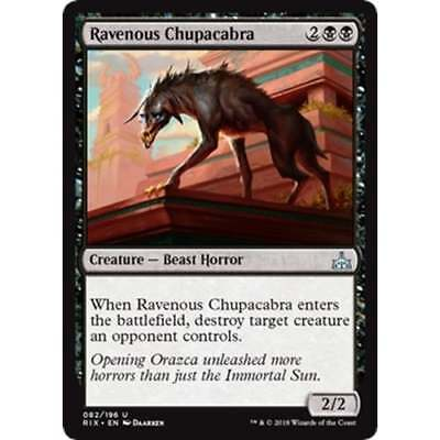4x Ravenous Chupacabra MTG Rivals of Ixalan MINT 2 Playsets Available