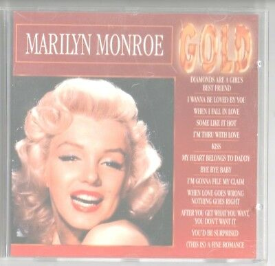 Marilyn Monroe - Gold - In Original Jewel Case & Original Art Work