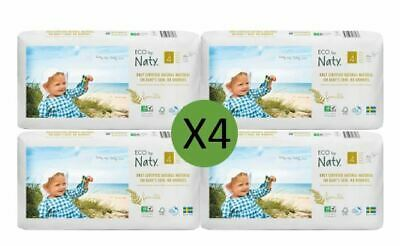 Naty Size 4 Nappies Eco Pack (4 x 44)