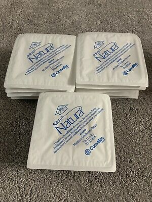 Lot Of 14 Convatec SurFit Natura #404593 Durahesive MOLDABLE CONVEX Ostomy Wafer