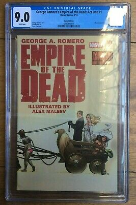 George Romero's Empire of the Dead: Act One #1 Frank Cho Variant CGC 9.0