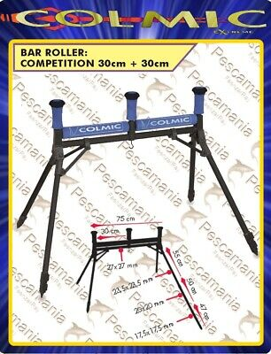 Roll roubaisienne Colmic Bar Roller Double Competition 30+30