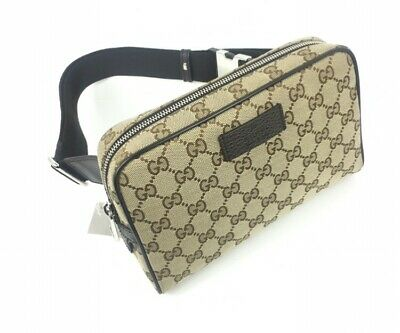 e4a2aa75cbad AUTHENTIC GUCCI #449174 GG Canvas Belt Bag/Fanny Pack, NWT - $629.00 ...
