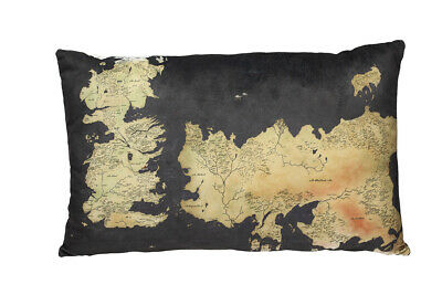 SD Toys Game of Thrones Cuscino Pillow Cushion Westeros Map 55 cm
