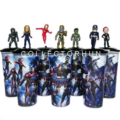 Avengers Endgame Movie Cup + Topper set