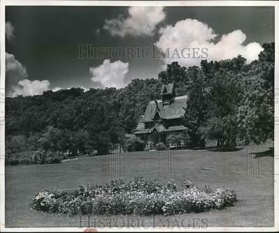 1962 Press Photo 13th century church replica in Little Norway style, Wisconsin