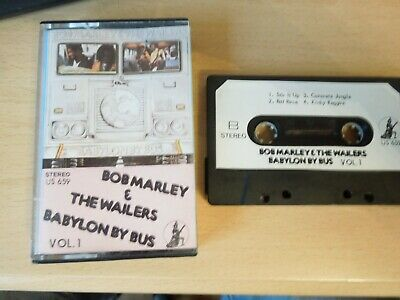 Bob Marley and The Wailers - Babylon By Bus Cassette Tape Vol 1 - Live 1978 Tape