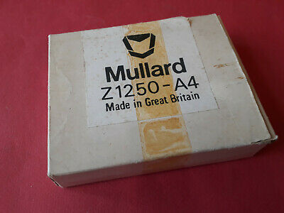 Mullard Z1250 - A4 Gas discharge dot matrix display ~ With data sheet