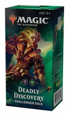 MTG Magic the Gathering Challenger Deck 2019: Deadly Discovery FACTORY SEALED