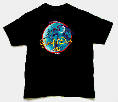 Grateful Dead Shirt T Shirt Vintage 1985 1986 New Years Eve Angel FLD GDP L New