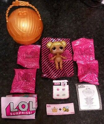 Lol Surprise Dolls Series 1 - ❤️Queen Bee❤️ ULTRA RARE+V VHTF!! - Sealed Bags!!