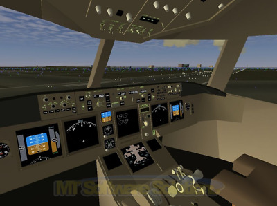 FLIGHTGEAR FLIGHT SIMULATOR for Microsoft Win PC & Mac OS X