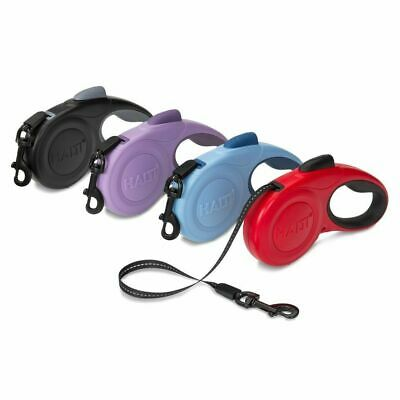 HALTI Retractable Lead Dog Leash Durable Lightweight Reflective - All Sizes