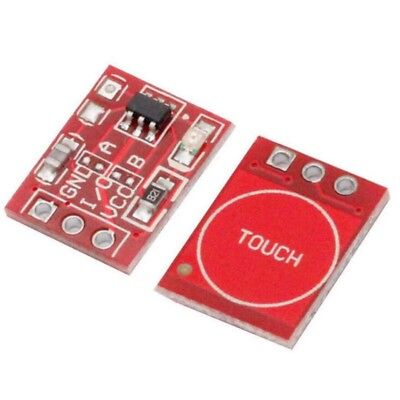 10pcs/Set TTP223 Capacitive Touch Switch Button Self-Lock Module for Arduino