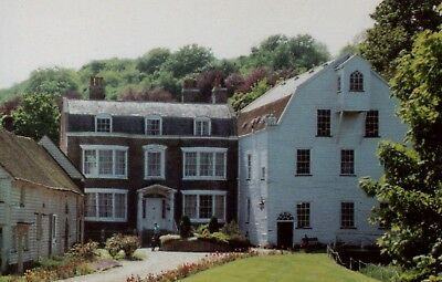 Old Postcard: The Mill and Mill House, Farningham , Kent.