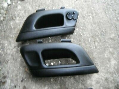 VW CORRADO PAIR INTERIOR DOOR HANDLES//PULL GRAB+MIRROR SWITCH VR6 16V 8V
