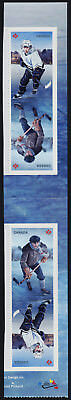 Canada 3040-1 Gutter Pair MNH History of Hockey, Sports